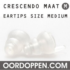 Crescendo Medium Transparant Oordopjes